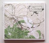 "CD-box на магнитах для 4 cd ""Цветы"""