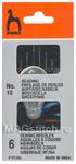 Иглы для вышивки бисером №10 с нитковдевателем