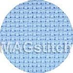 Канва для вышивания Канва AIDA 14 Zweigart 503 голубая ОТРЕЗ 50x50