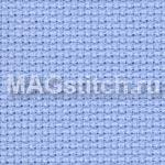 Канва для вышивания Канва AIDA 18 Zweigart голубая  ОТРЕЗ 55x80