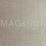 Канва Belfast 32 Zweigart - лен для вышивки СВЕРКАЮЩИЙ перламутровый ОТРЕЗ 35x40