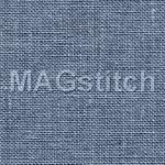 Канва для вышивания Канва лен Belfast 32 - 578 Blue Spruce Голубая Ель