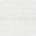 Канва Edinburgh Linen 36 Zweigart 100 белая ОТРЕЗ 40x40