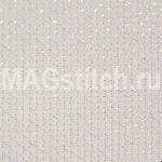 Канва для вышивания Канва AIDA 14 Zweigart Star белая сверкающая ОТРЕЗ 37х55
