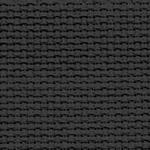 Канва для вышивания Канва AIDA 14 черная ОТРЕЗ 50x75
