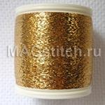 """Металлизированные нитки для ввязывания """"Золото"""""""