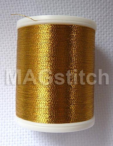 Вышивка ниткой металлик