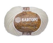 Пряжа Мерино Вул - Merino wool K335 молочный
