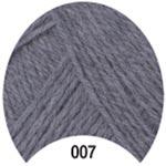 Пряжа Мерино Голд - Merino Gold 00007 серый