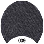 Пряжа Мерино Голд - Merino Gold 00009 серый темный
