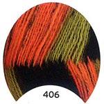 Пряжа Ангора мультиколор - Angora multicolor 00406 хеллоуин