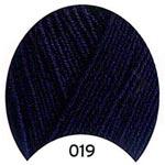 Пряжа Кашемир Голд - Cashmere Gold 00019 темно-синий