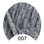 Пряжа Альпака Голд - Alpaca Gold 00007 серый