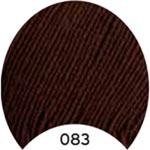 Пряжа Мерино Голд 200 - Merino Gold 200 00083 коричневый