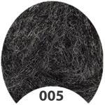 Пряжа Арита - Arita 00005 черный