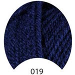 Пряжа Люкс Бэби - Lux Baby 00019 темный синий