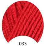 Пряжа Люкс Бэби - Lux Baby 00033 красный