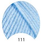 Пряжа Люкс Бэби - Lux Baby 00111 голубой