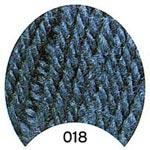 Пряжа Жасмин - Jasmin 00018 сине-зеленый