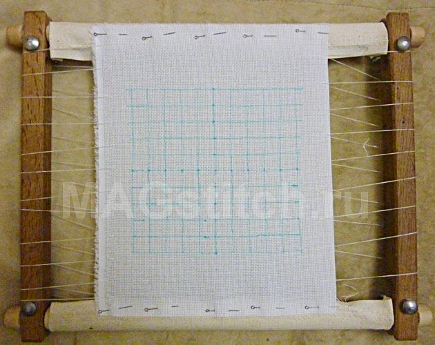 Как вышивать гладью по схеме для вышивки крестом. Часть 1 ... 0797e03ee613e