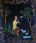 Вышитая картина Пастушок