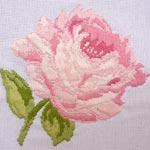 Бесплатная схема для вышивки крестом Роза