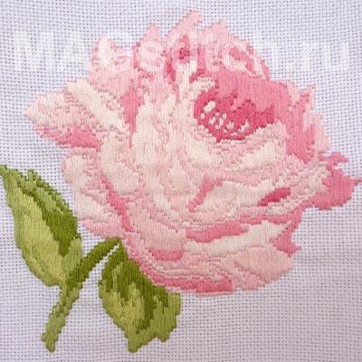 Бесплатная схема для вышивки крестом Роза.